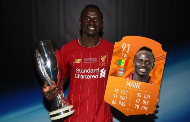 Meilleur joueur de l'UEFA : Sadio Mané zappé