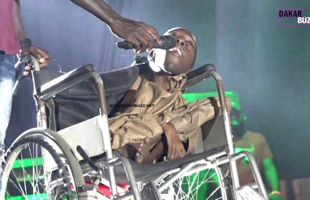 Pikine: Le Jeune Rappeur Handicapé au concert de Wally Seck