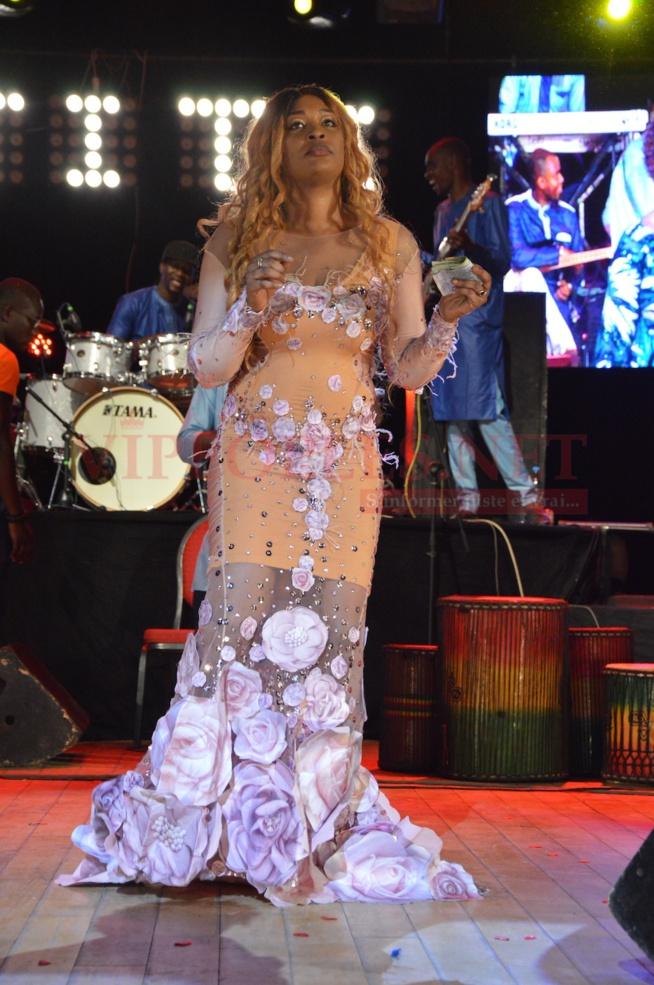 PHOTOS SANGNE SÉ GRAND THEATRE: TITI, la lionne de la musique remporte le palme d'or.