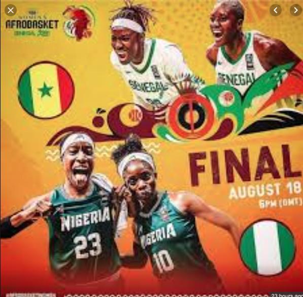 Finale Afrobasket 2019 : Nigeria championne d'Afrique devant le Senegal  avec 4 points d'écarts 59 à 55