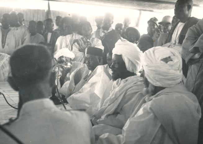 Gaindé Fatma : Serigne Cheikh Ahmadou Mbacké et Ahmadou Makhourédia Diop, le frère cadet de Lat Dior