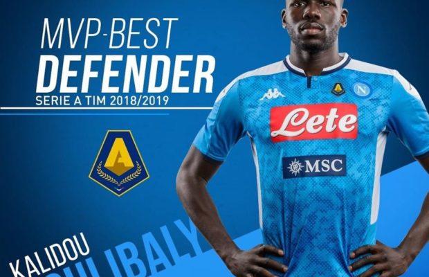 Officiel – Série A: Koulibaly meilleur défenseur de la saison 2018/2019…