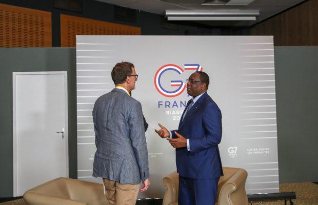 Sommet G7 : Le Président Macky Sall mise sur une transformation économique , le fruit de la diversification
