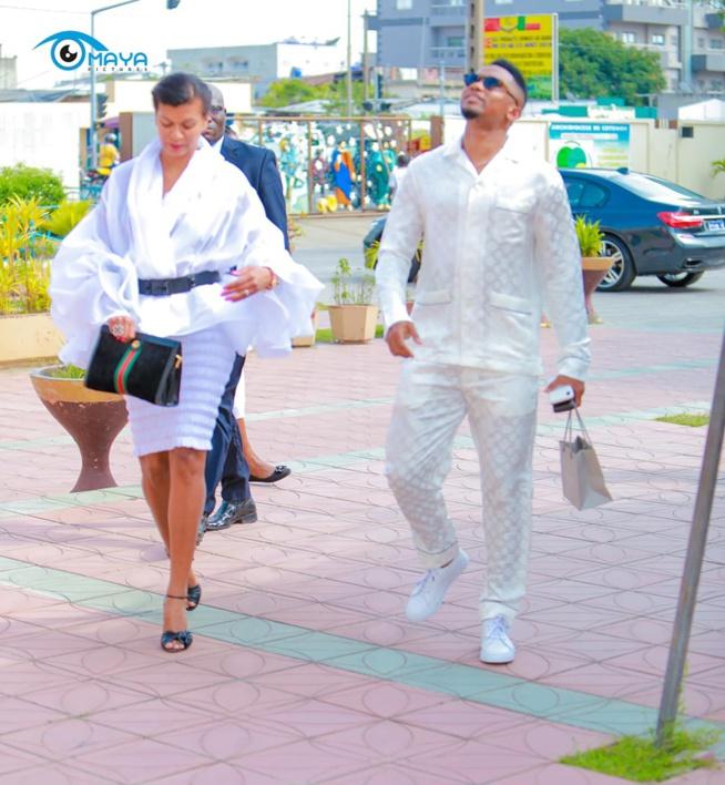 Le joli couple Georgette Et Samuel Eto'o, harmonieux même dans le style