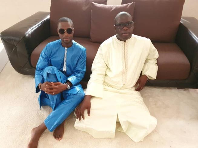 Serigne Abdourahmane Mbacké et le PDG du GFM, Birane Ndour une amitié fidèle et sincère.