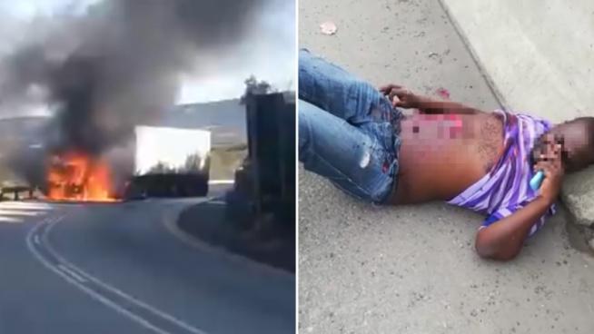 """Violences xénophobes en Afrique du Sud : """"Ils disent qu'on vient voler leur travail"""""""