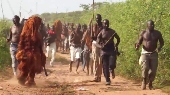 Ngaparou: le Kankourang fait plusieurs blessés