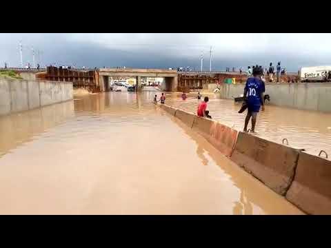 Travaux TER – Inondation : le tunnel de Rufisque envahi par les eaux