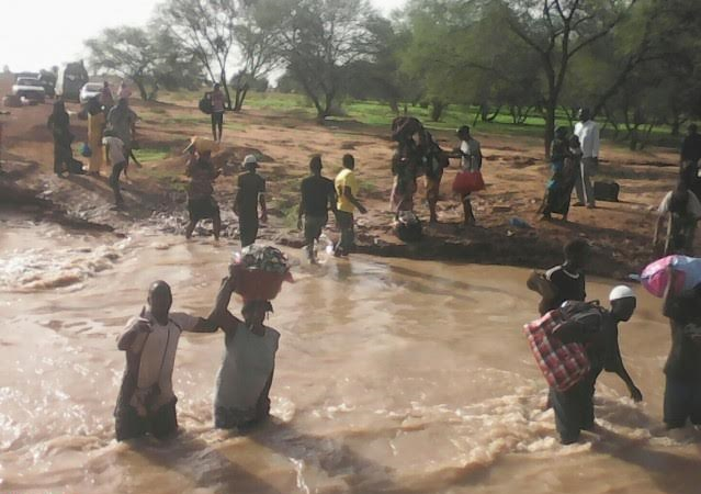 BALOU : Après les fortes pluies, l'aide de l'État attendue