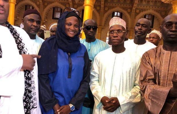 Grande mosquée Massalikoul Djinane: Visite du Cadre Unitaire de l'Islam au Sénégal dirigé par son Président Serigne Cheikh Tidiane SY ibn Serigne Abdou Aziz Al Amin