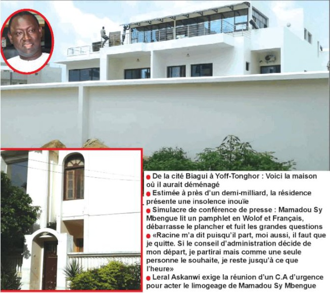 Patrimoine supposé du Directeur général de l'IPRES: Ces immeubles qui intriguent la République et fâche les retraités