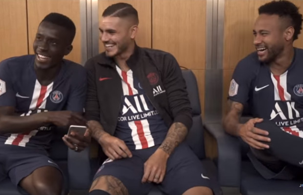 Quand Idrissa Gana Gueye fait rire Neymar dans le vestiaire du PSG