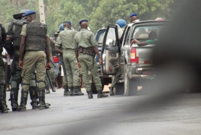 Opération de sécurisation: 147 individus arrêtés par la gendarmerie