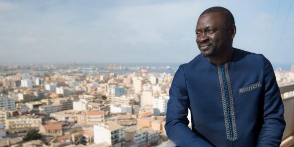 SIDY DIAGNE, FLIBUSTIER DE LA TNT ( Jeune Afrique )