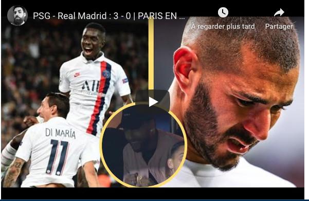 PSG - Real Madrid : 3 - 0 | PARIS EN FEU ! GANA GUEYE UN MONSTRE ! LE REAL UNE EQUIPE DE DISTRICT !