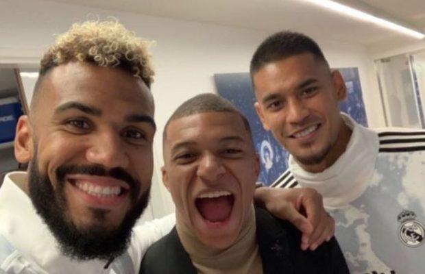 PSG-Real : Areola critiqué après un selfie tout sourire avec Choupo-Moting et Mbappé