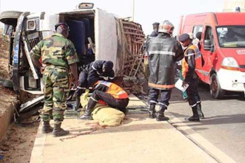 Urgent : Violent accident mortel à Kaolack ce vendredi !