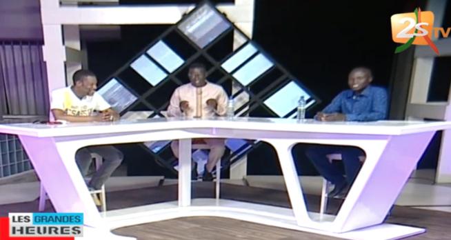 LES GRANDES HEURES: Polémique sur le livre H.G de Iba Nder Thiam, Tange Tandian réagit sur le plateau de la 2STV avec Ben Matar