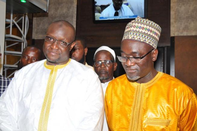 Massalikoul Djinaan: Mouhamadou Makhtar Cissé et Pape Demba Bitèye contemplent le joyau, avant l'inauguration