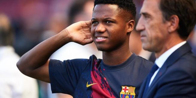 Barça: Ansu Fati obtient la nationalité espagnole