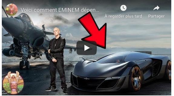 VIDEO - Voici comment EMINEM dépense ses millions!
