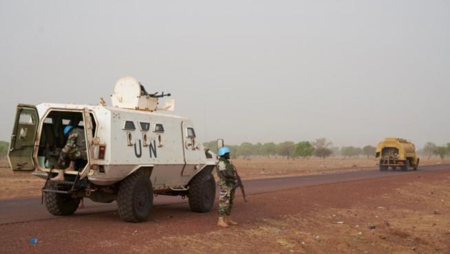 Mali: Un Casque bleu tué, cinq blessés dans deux attaques