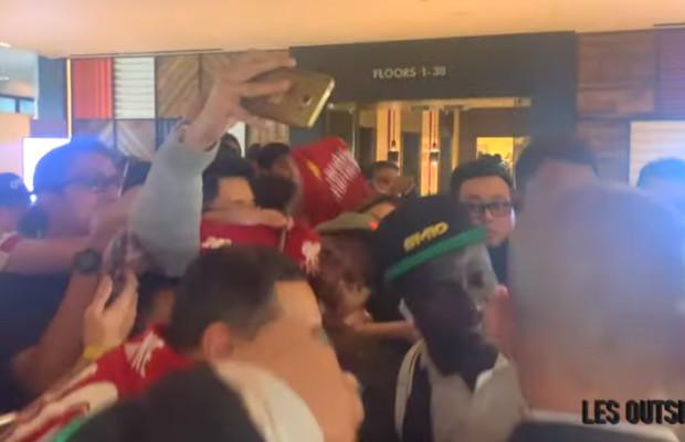 L'arrivée des lions du Sénégal à Singapore pour le match contre le Brésil (Video)