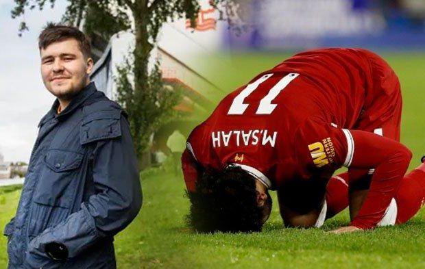 Angleterre : Un fan de football islamophobe embrasse l'islam grâce à Salah