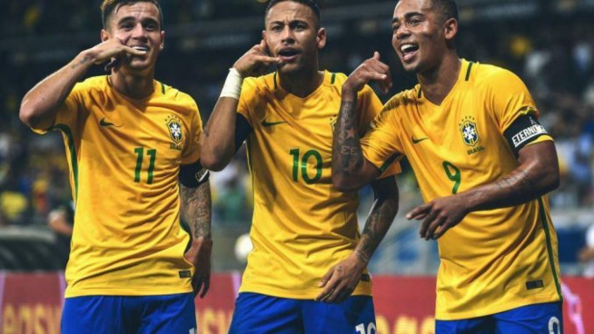 Onze probable du Brésil contre les Lions du Sénégal