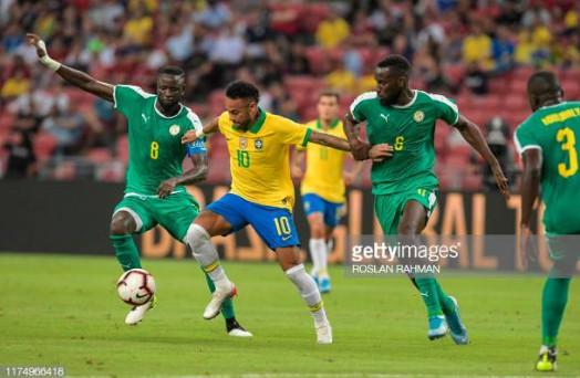 Brésil Vs Sénégal : Les Lions avec Sadio Mané, tiennent en échec le Brésil de Neymar (1-1)