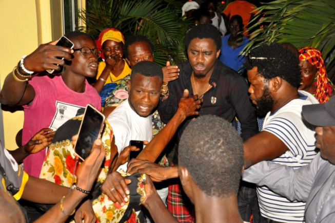 Wally Seck crée l'attraction devant la RFM