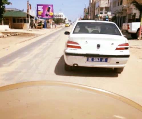 Insolite : quand deux véhicules qui portent la même immatriculation se croisent