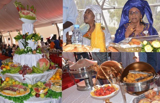 Jour de MAGAL à Dianatou : Le petit Déjeuner Royal de Serigne Saliou Thioune avec Sokhna Mbossé et Sokhna Aïcha Mama Kane