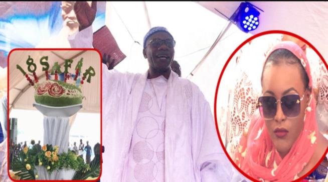 Le « doukate » du khalife des Thiantacounes, Serigne Saliou Geul Tapée lors du déjeuner royal à Touba…