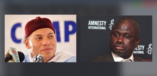 """Condamné et gracé: Seydi Gassama trouve nécessaire de réviser le procès de Karim Wade"""""""