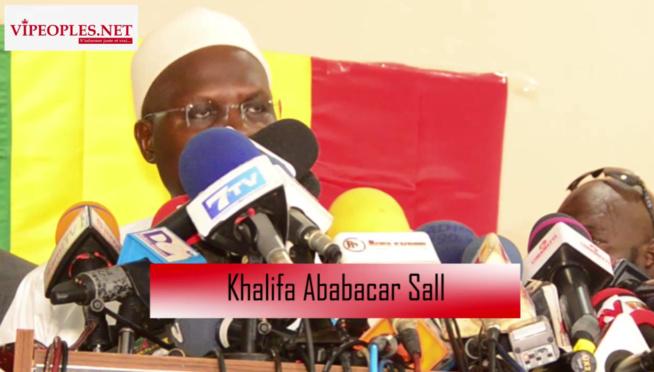 Khalifa Sall à ses militants je m'engage devant vous a poursuivre mon avenir politique...
