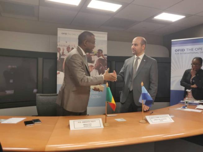 Accords de financement : le Sénégal signe deux conventions avec le Fonds de l'Opep