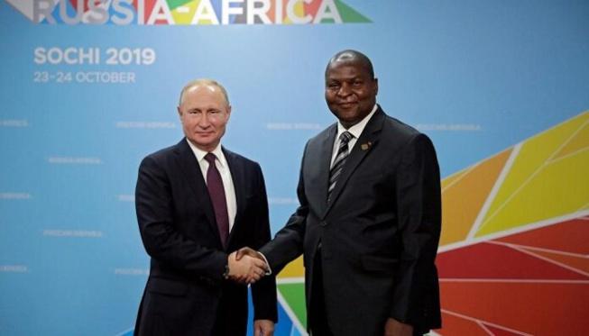 Centrafrique: Une base russe bientôt installée