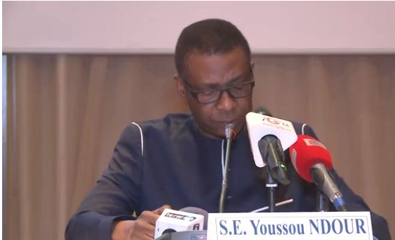 VIDEO - Youssou Ndour, son discours à la signature de convention au Partenariat Mondial pour l'Education