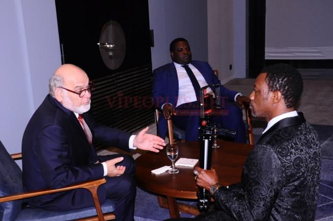 VIDÉO:African Leadership Award, l'ex parlementaire français, sénateur, Robert Hue et son collégue Camille Sylla s'expriment sur la soirée de l'éxcéllence