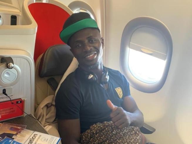 Sadio Mané, Monsieur modestie..: Il a rejoint la sélection par vol simple