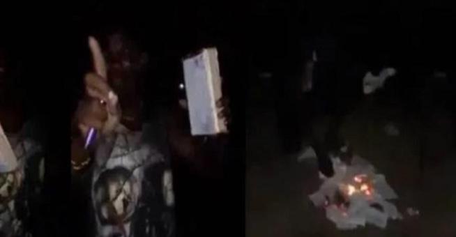 Ghana: un homme filmé en train de brûler la Bible, explique ses raisons