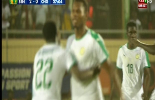 Sénégal 2-0 Congo, Habib Diallo double la mise sur une passe décisive de Sadio Mané. Regardez