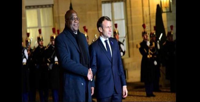 Macron annonce une aide de 65 millions d'euros à la RDC