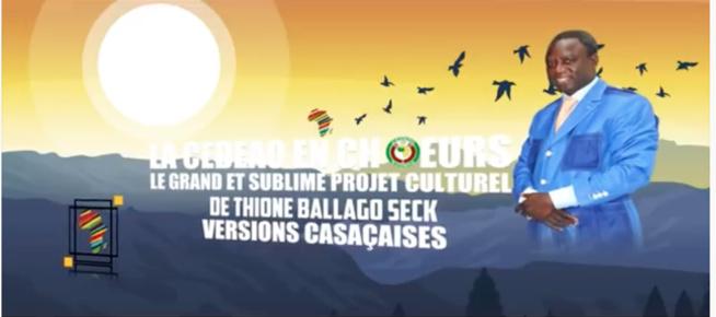 Thione Ballago Seck - Projet La CEDEAO En Choeurs ( Behind The Scenes )