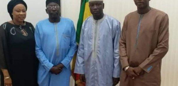Audience: Aly Ngouille reçoit la visite du Ministre gambien de l'Intérieur