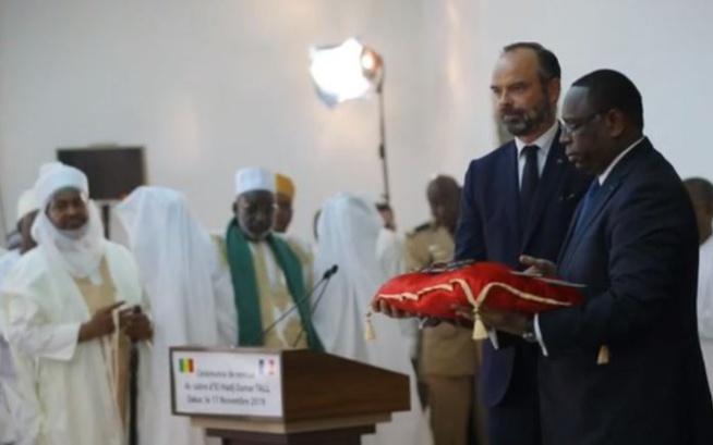Vidéo : Revivez les moments forts de la restitution du sabre d'El Hadj Oumar Foutiyou Tall