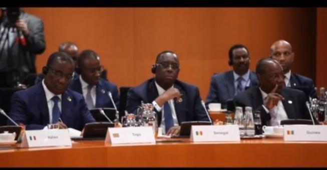 Vidéo inédite : Le Président Macky Sall au cœur de la conférence du  »G20 Compact with Africa » à Berlin
