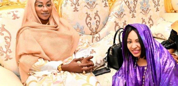Séjour à Dakar- Sokhna Baly Mountakha filmée chez Sophie Ndiaye Cissokho (Photos)