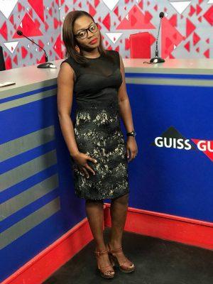 Safia Diatta, l'animatrice de Sen Tv toujours bien habillée